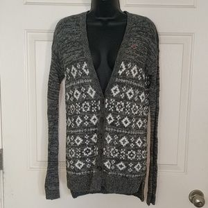 💸Hollister Fair Isle Cardigan